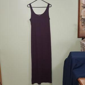 Express Purple Maxi Dress